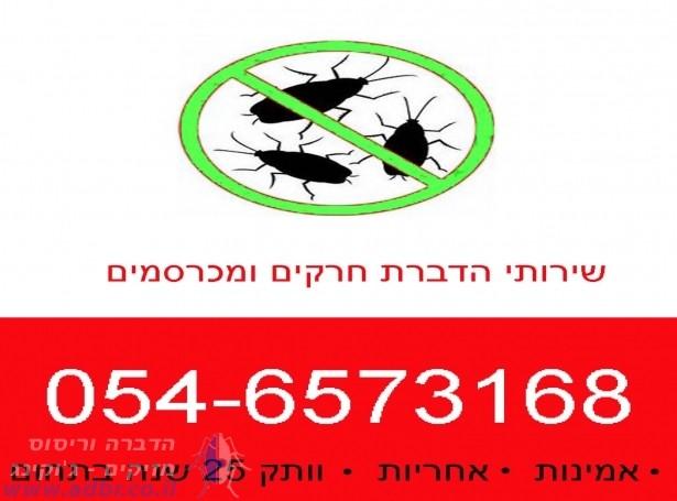 הדברה בראשון לציון | הדברה בתל אביב וגוש דן