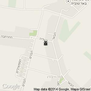 ריסוס בכפר ורבורג מפה