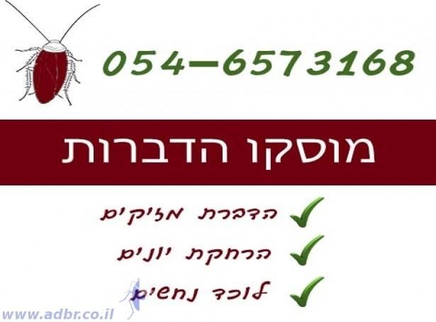 מוסקו הדברות | ריסוס בתל אביב וגוש דן
